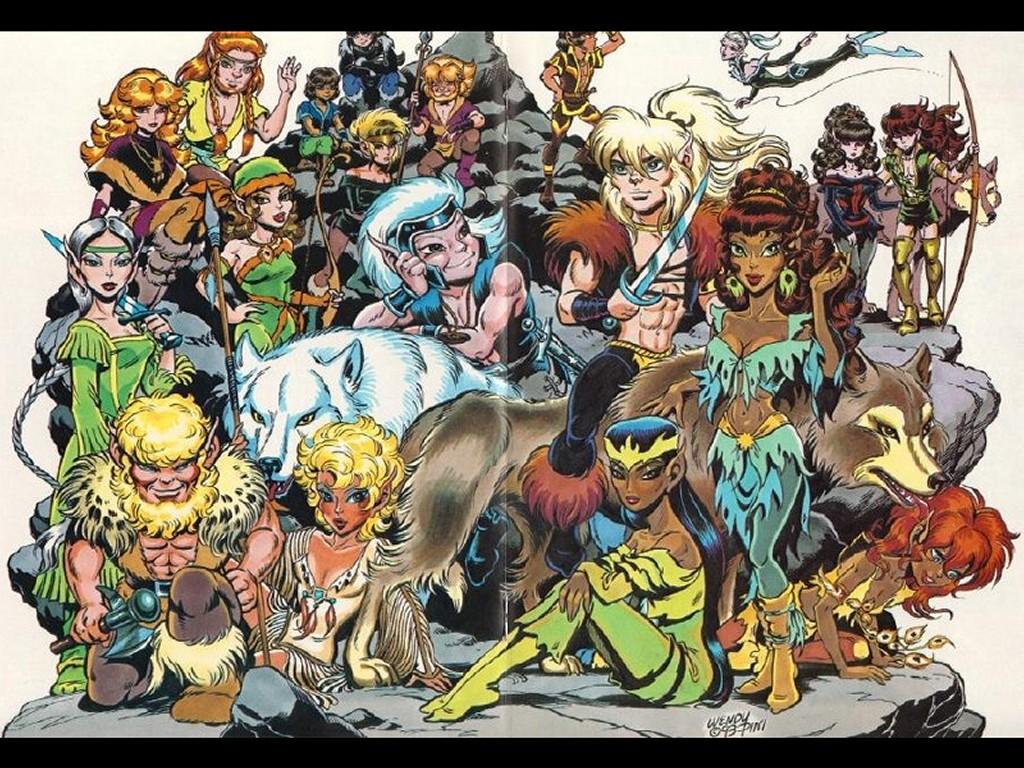 Comics Wallpaper: Elfquest