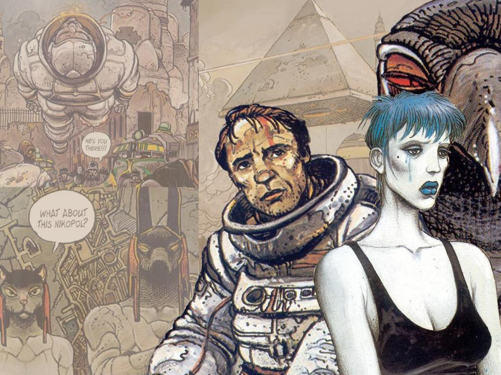 Comics Wallpaper: Enki Bilal - Nikopol Trilogy