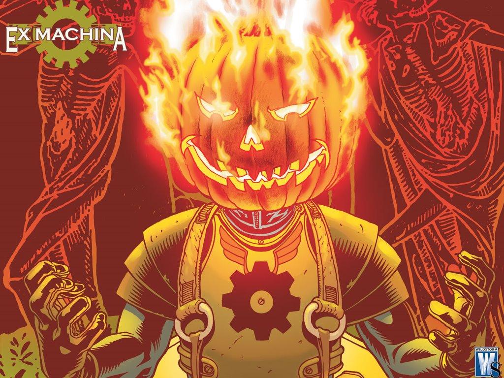 Comics Wallpaper: Ex-Machina - Halloween