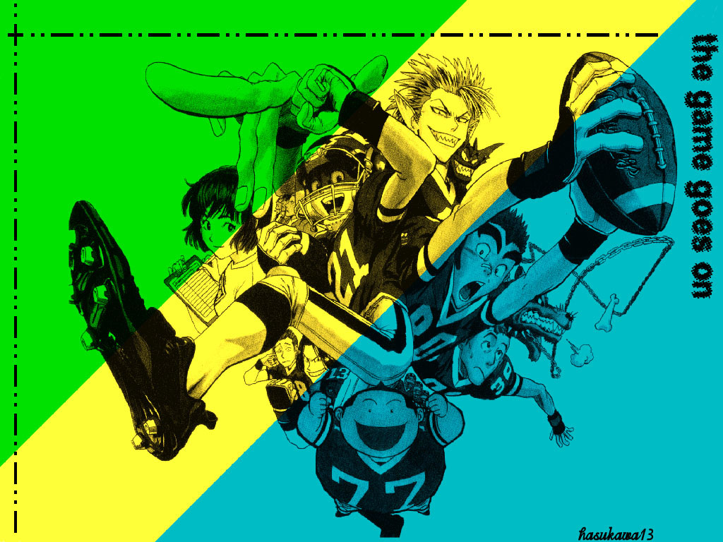 Comics Wallpaper: Eyeshield
