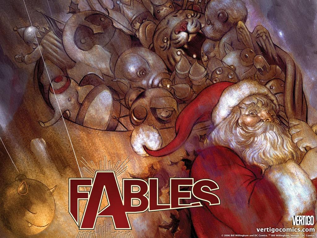 Comics Wallpaper: Fables - Santa Claus