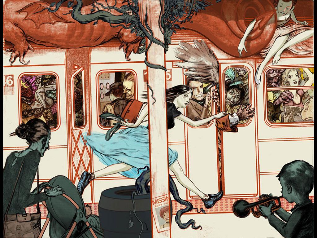 Comics Wallpaper: Fables