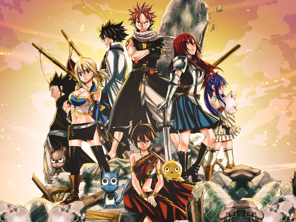 Comics Wallpaper: Fairy Tail
