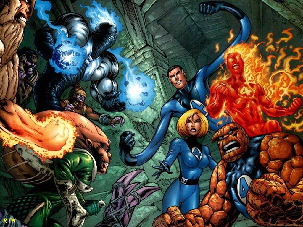 Comics Wallpaper: Fantastic Four