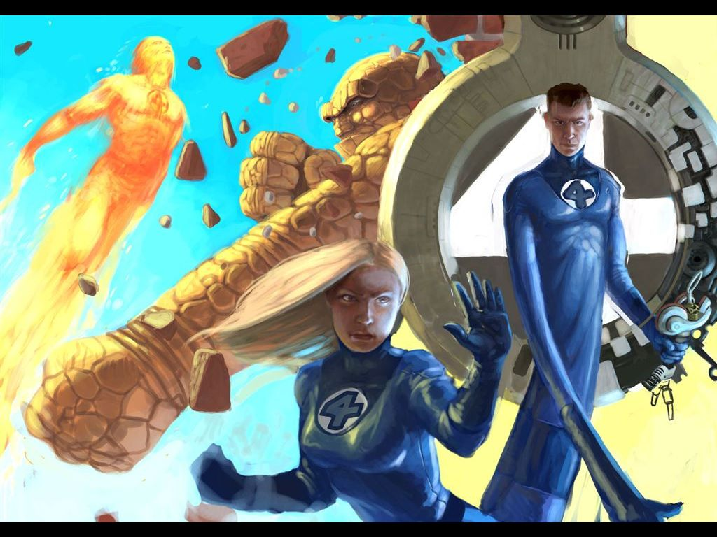 Comics Wallpaper: Fantastic Four (by Studio Sputnik)