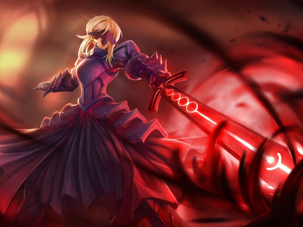Comics Wallpaper: Fate/Stay Night - Saber Alter