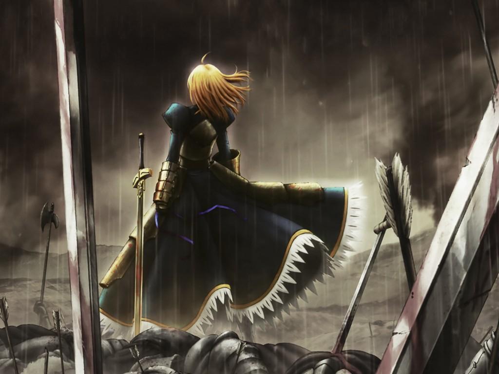 Comics Wallpaper: Fate/Stay Night