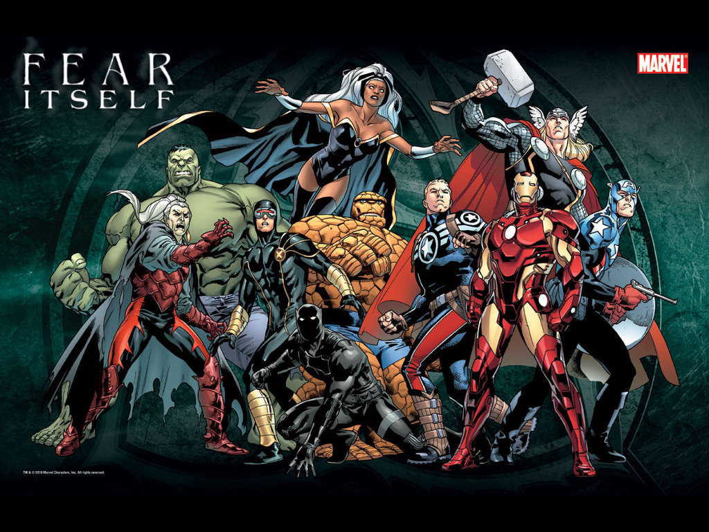 Comics Wallpaper: Fear Itself