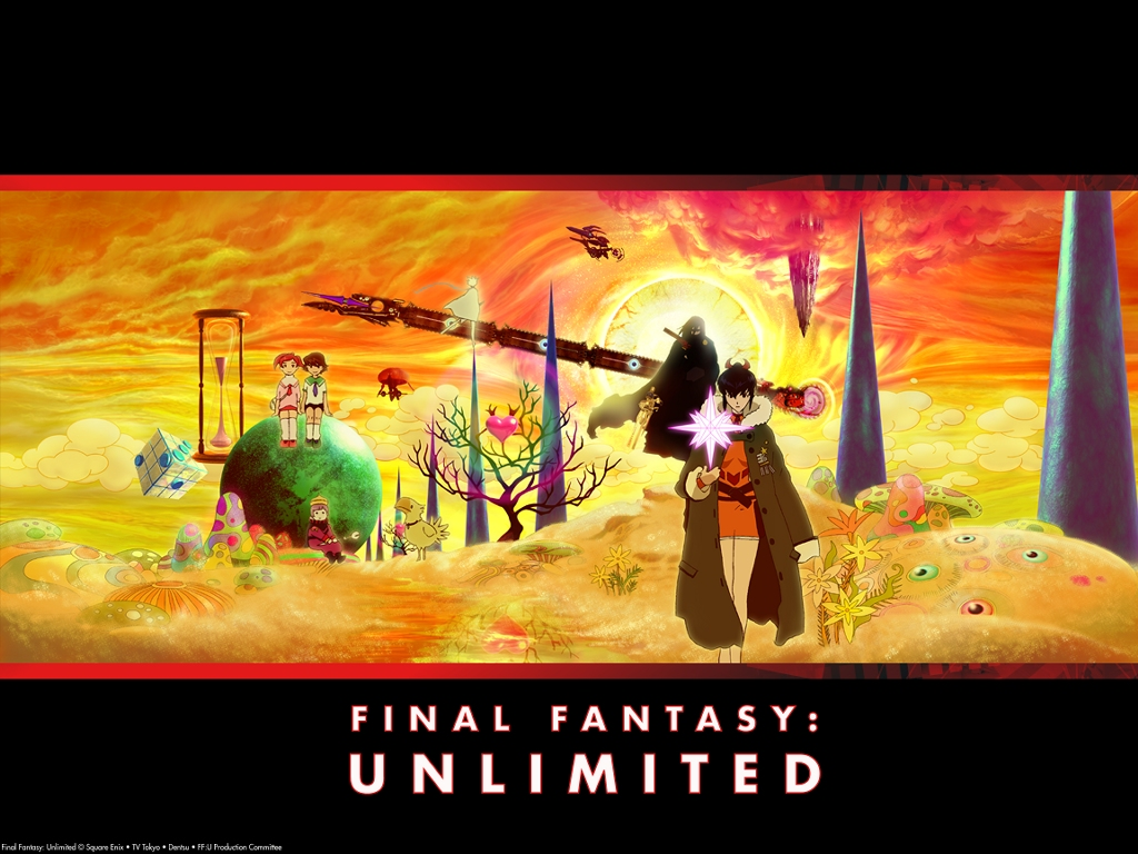 Comics Wallpaper: Final Fantasy Unlimited