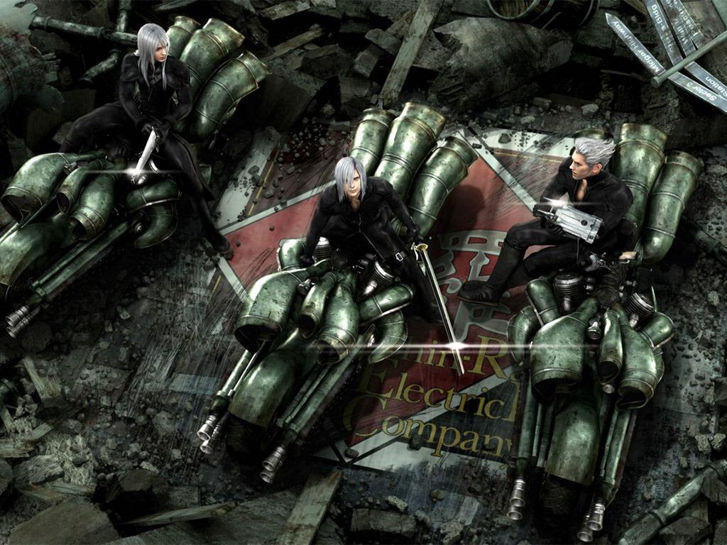 Comics Wallpaper: Final Fantasy VII - Advent Children