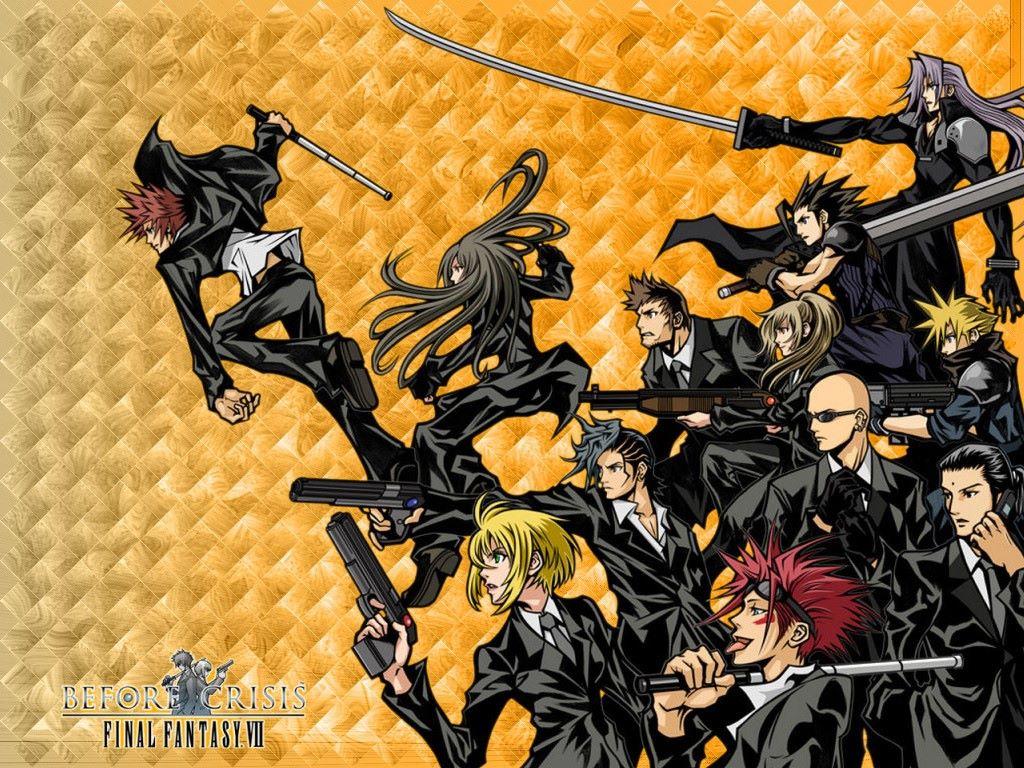 Comics Wallpaper: Final Fantasy VII - Before Crisis