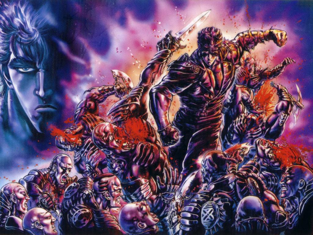 Comics Wallpaper: Fist of the North Star