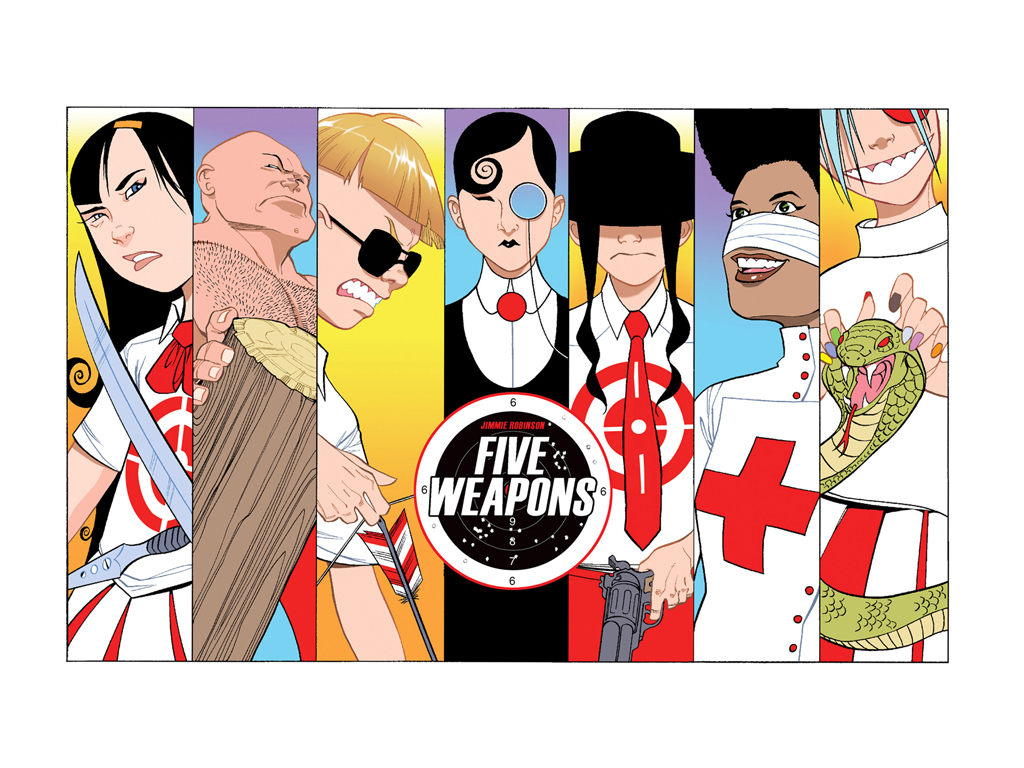 Comics Wallpaper: Five Weapons