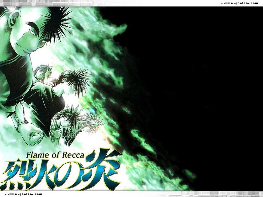 Comics Wallpaper: Flame of Recca