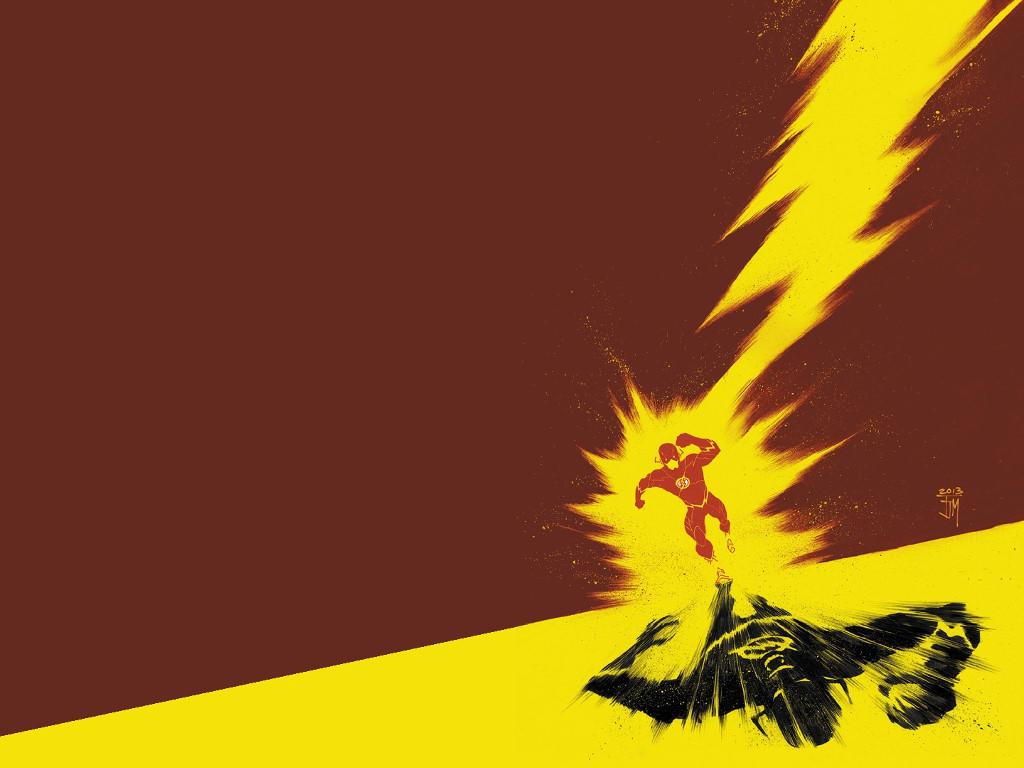 Comics Wallpaper: Flash and Zoom