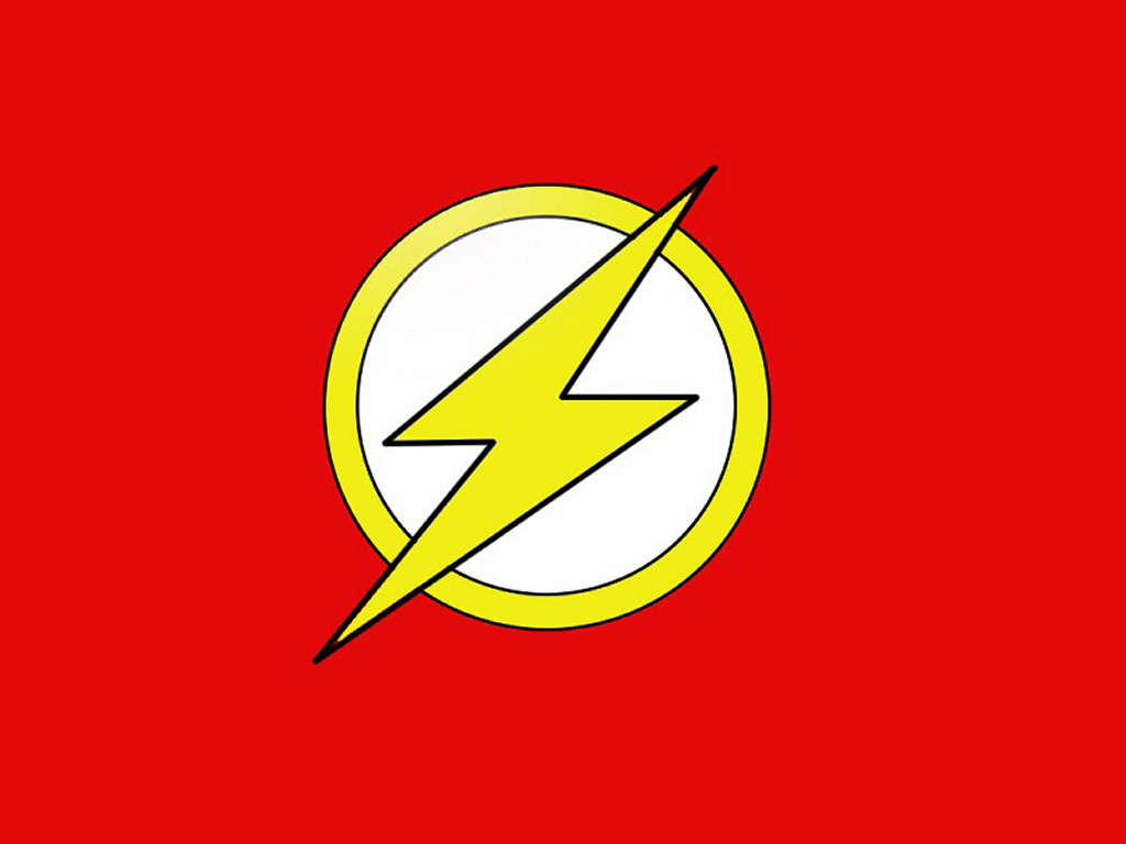 Comics Wallpaper: Flash - Logo