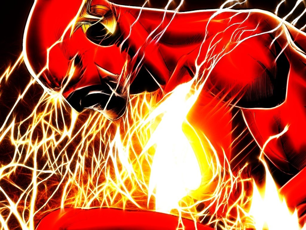 Comics Wallpaper: Flash - Speed Force