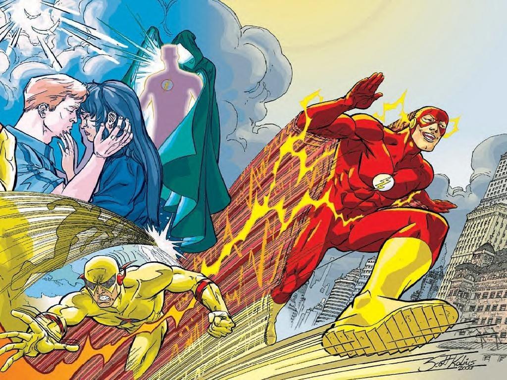 Comics Wallpaper: Flash vs Zoom