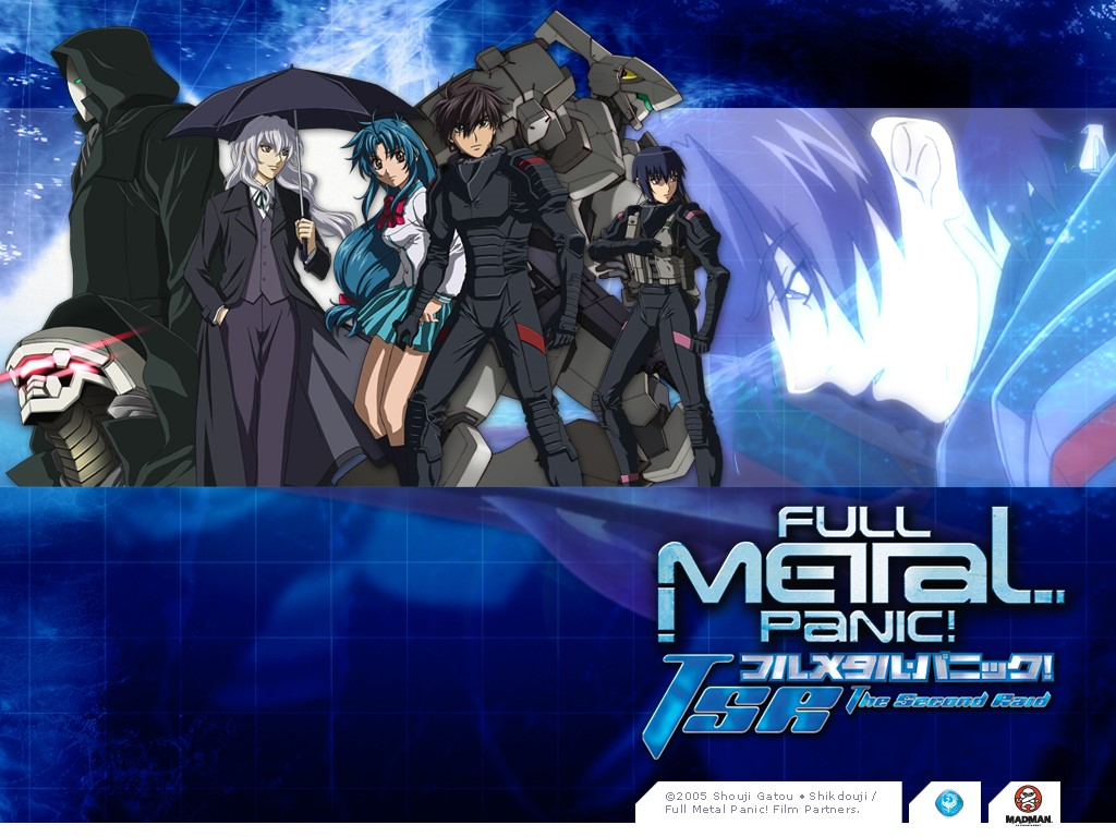 Comics Wallpaper: Full Metal Panic