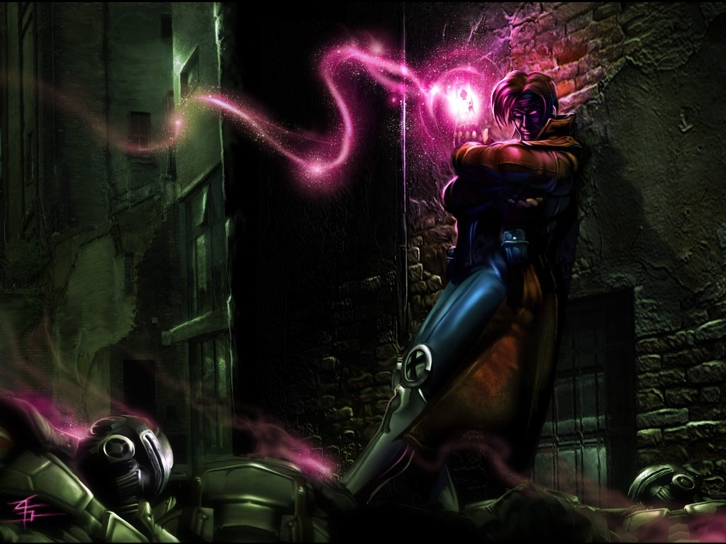 Comics Wallpaper: Gambit