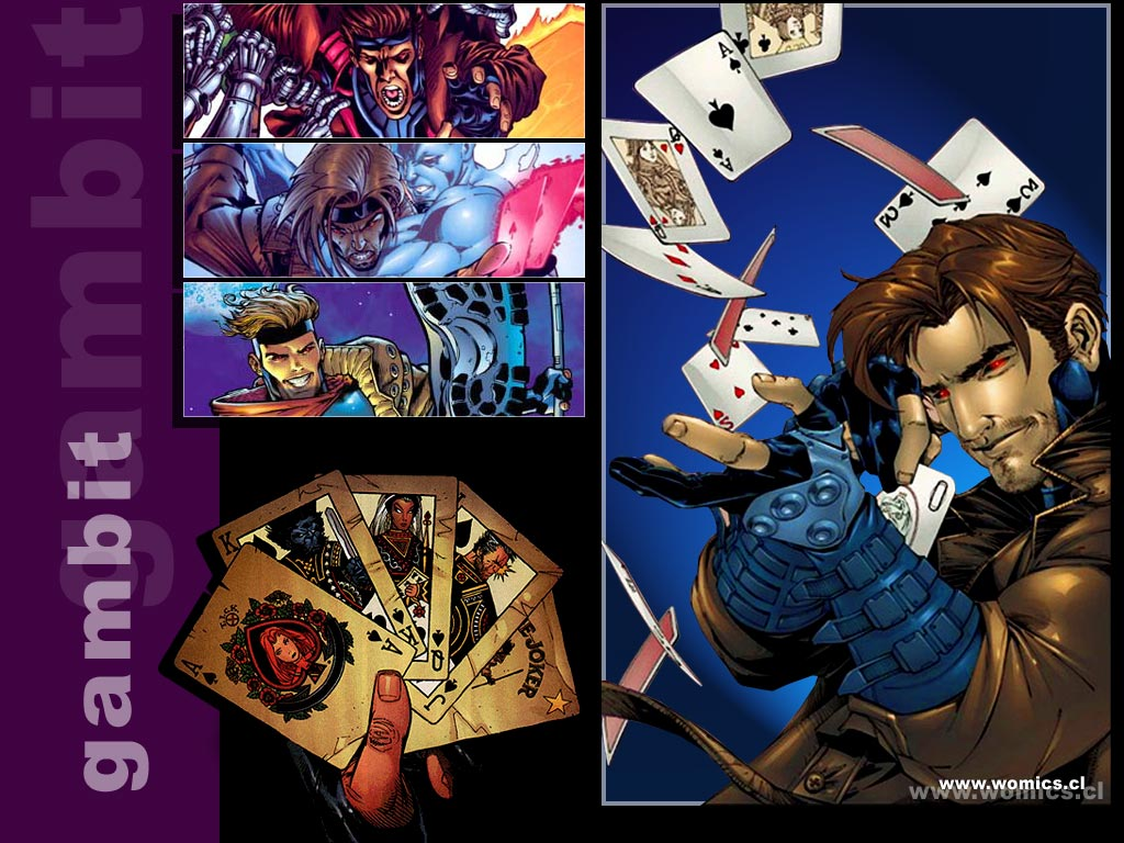 Comics Wallpaper: Gambit