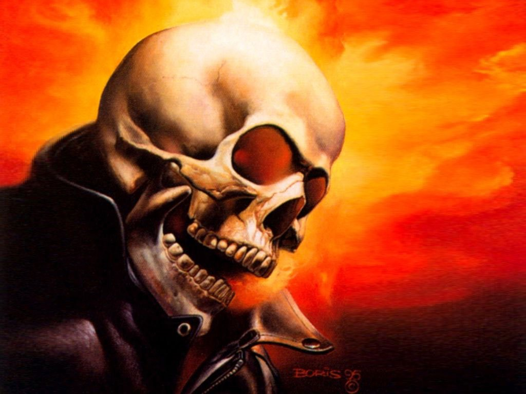Comics Wallpaper: Ghost Rider (by Vallejo)