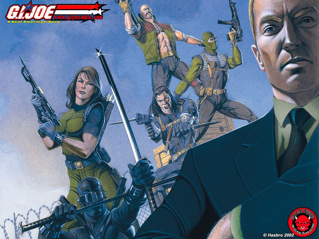 Comics Wallpaper: G.I. Joe