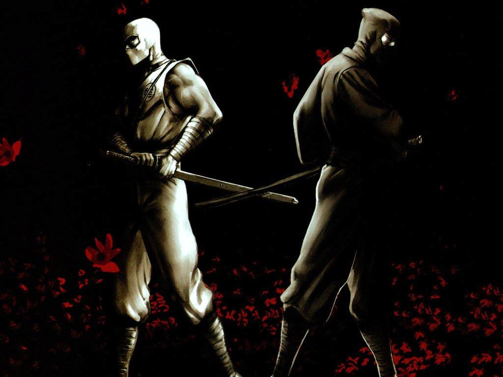 Comics Wallpaper: Stormshadow and Snake Eyes
