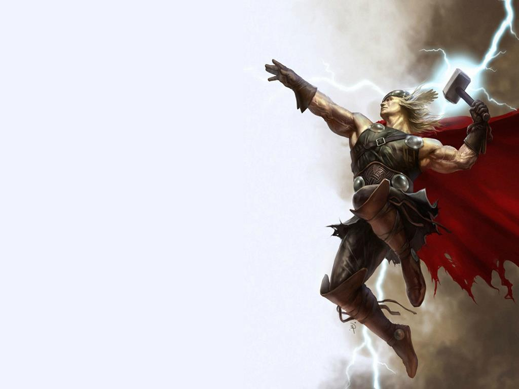 Comics Wallpaper: God of Thunder
