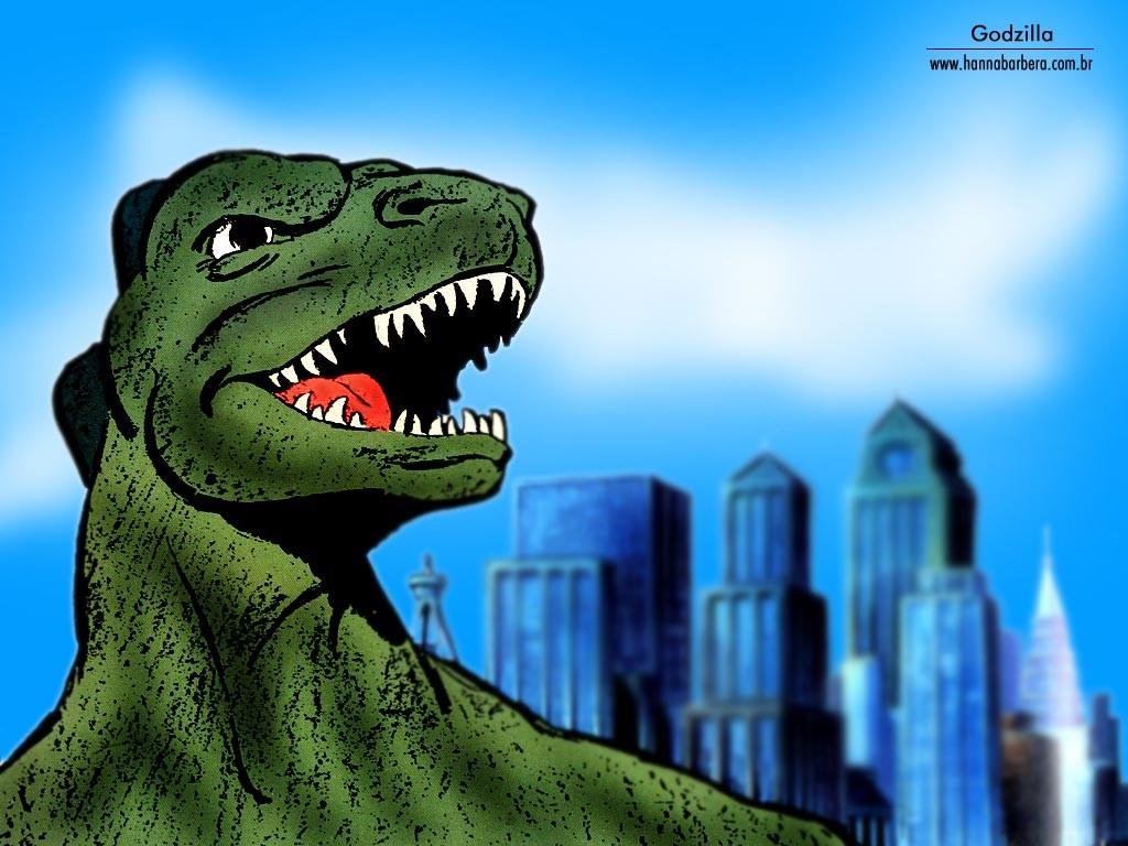Comics Wallpaper: Godzilla - Cartoon