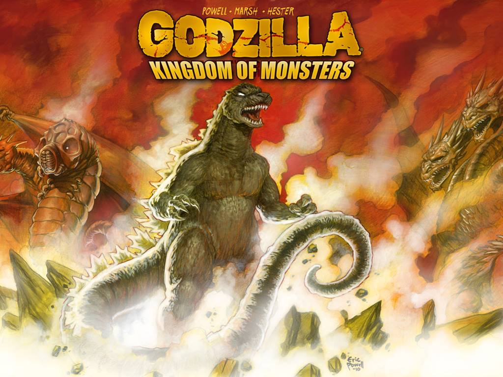 Comics Wallpaper: Godzilla - Kingdom of Monsters