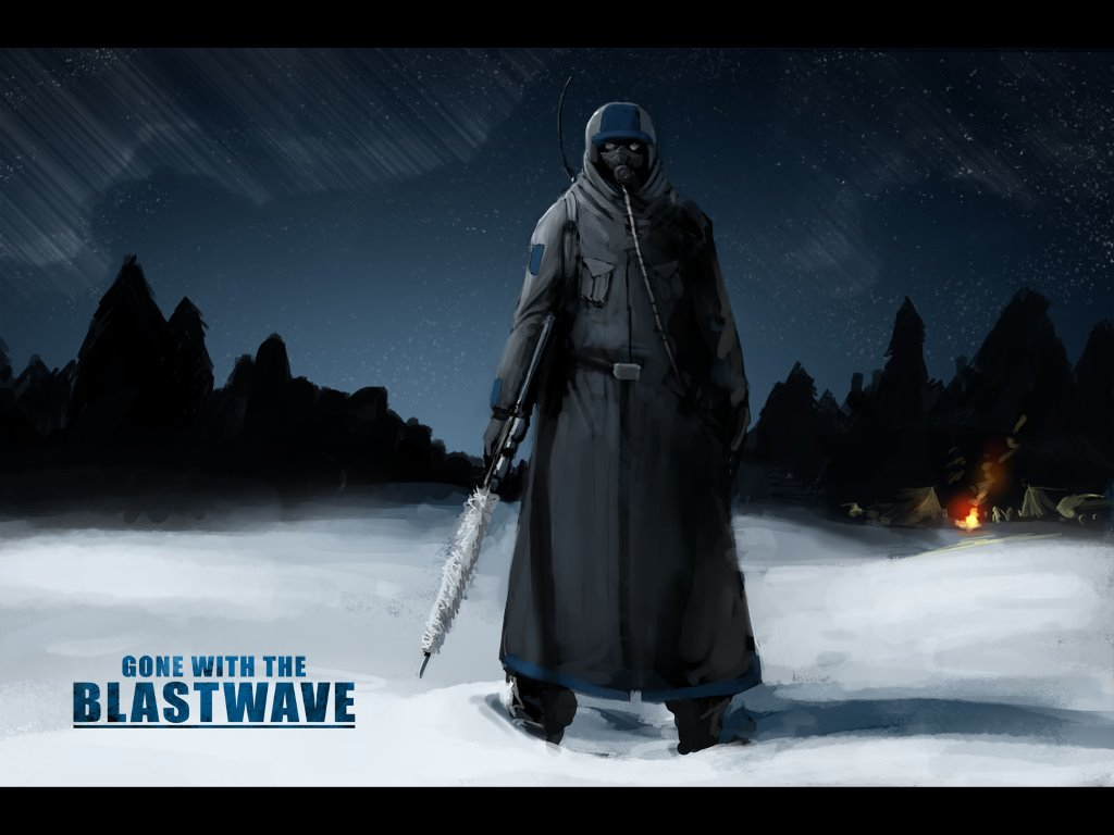 Comics Wallpaper: Gone With the Blastwave