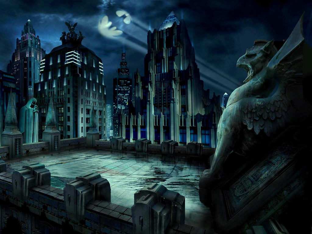Comics Wallpaper: Gotham City