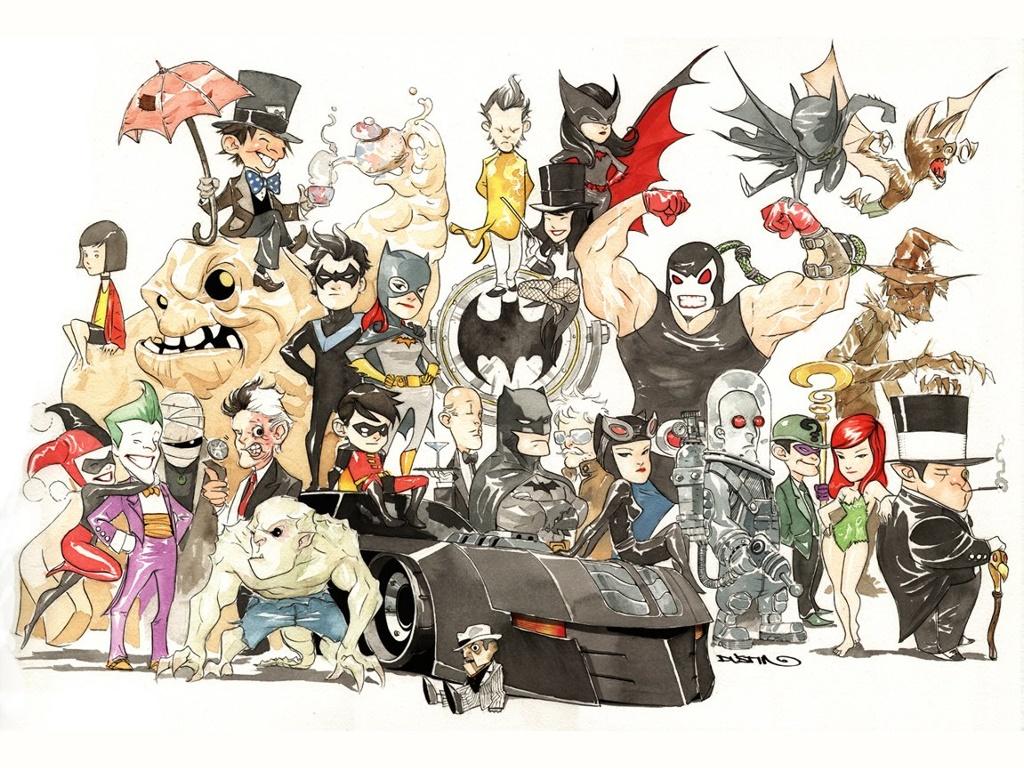 Comics Wallpaper: Gotham Mini