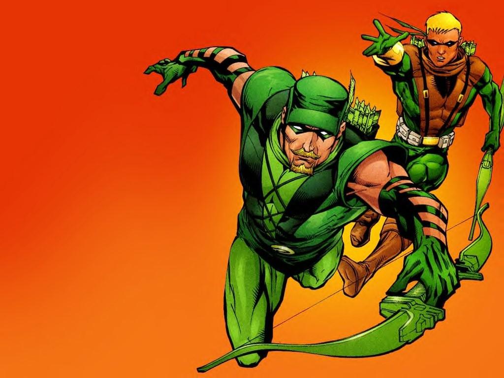 Comics Wallpaper: Green Arrows