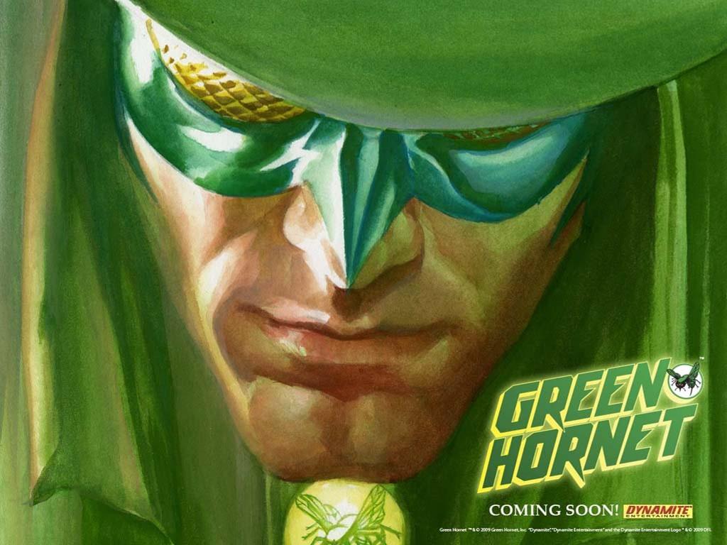 Comics Wallpaper: Green Hornet (by Alex Ross)