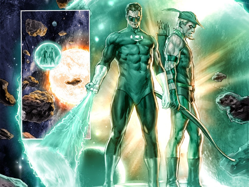 Comics Wallpaper: Green Lantern and Green Arrow - Cry for Justice