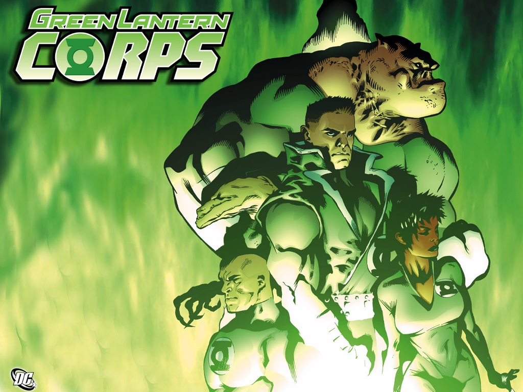 Comics Wallpaper: Green Lantern Corps
