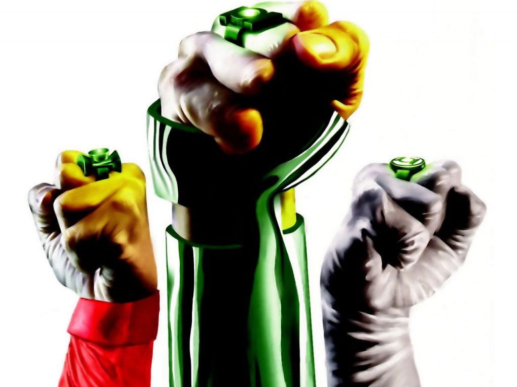 Comics Wallpaper: Green Lanterns - Fear Itself