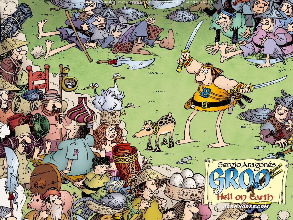 Comics Wallpaper: Groo