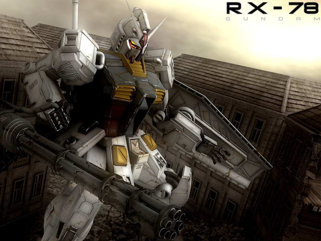 Comics Wallpaper: Gundam RX-78