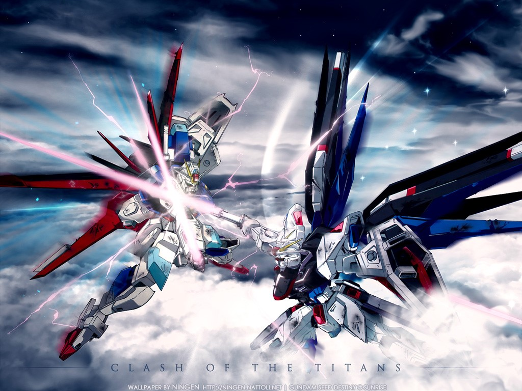 Comics Wallpaper: Gundam Seed Destiny
