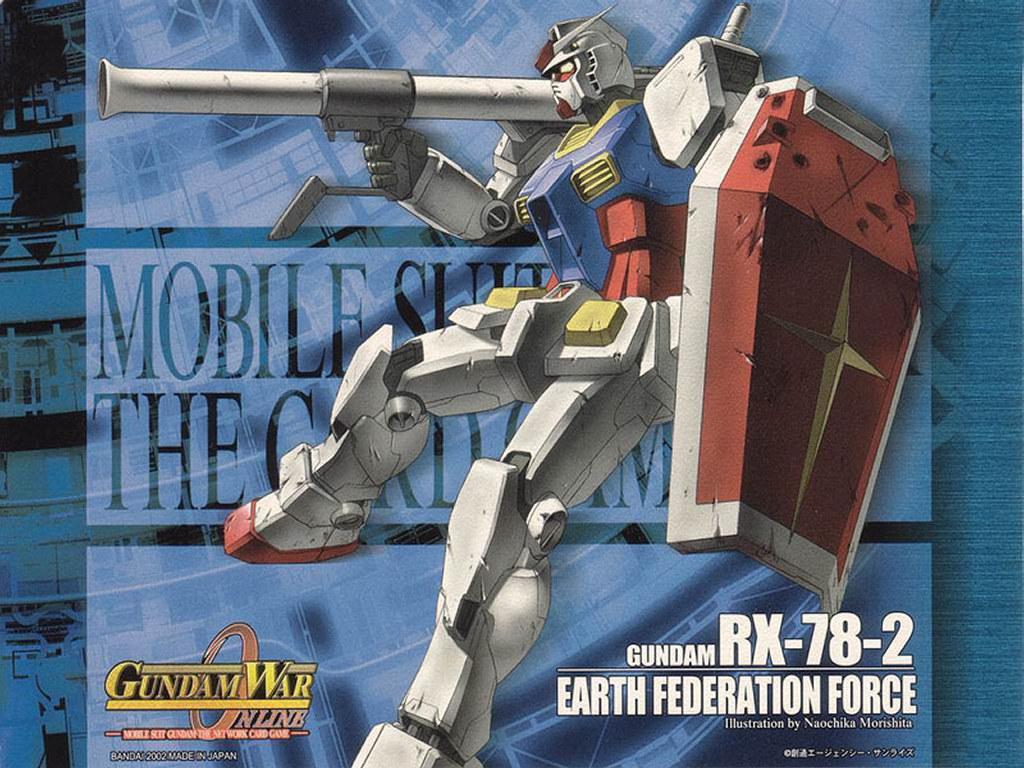 Comics Wallpaper: Gundam War Online