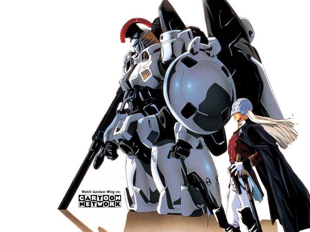 Comics Wallpaper: Gundam Wing