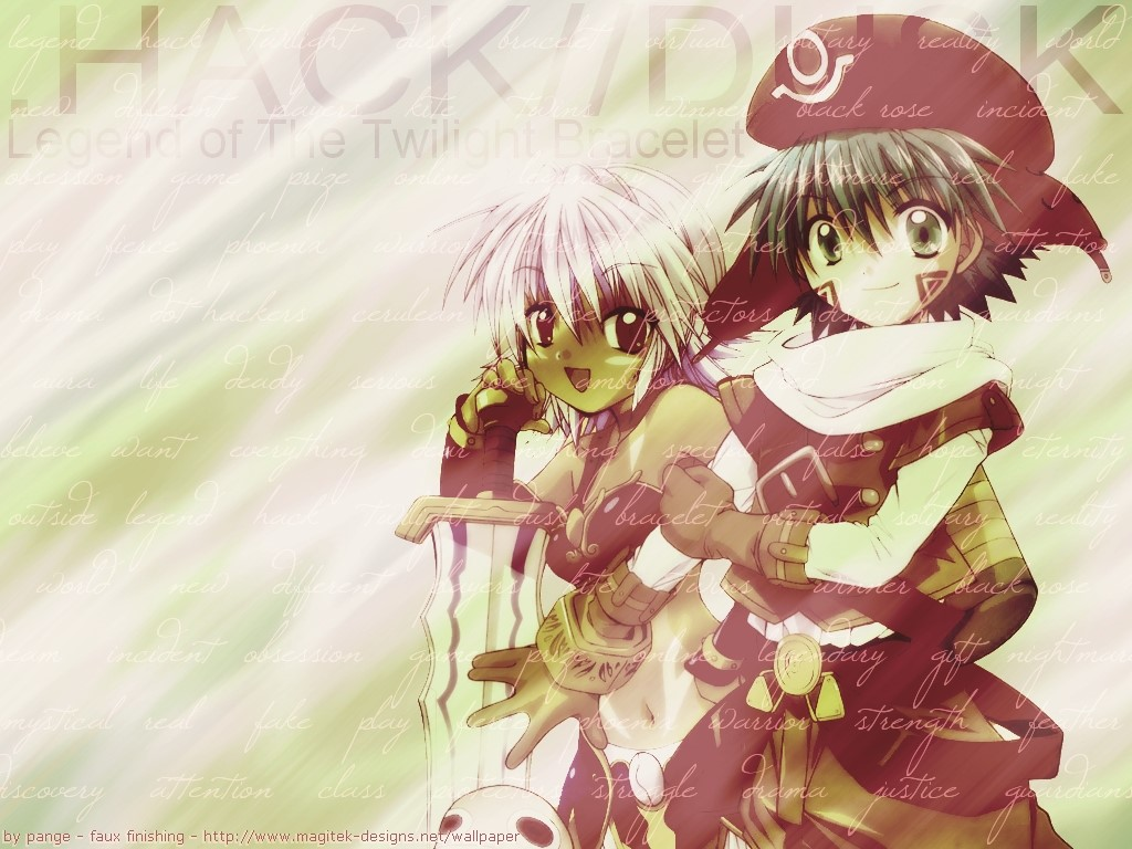 Comics Wallpaper: .Hack//Dusk