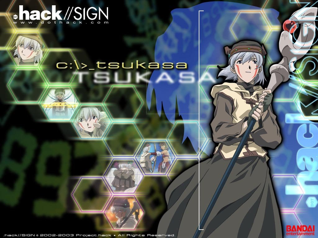 Comics Wallpaper: .Hack//Sign- Tsukasa