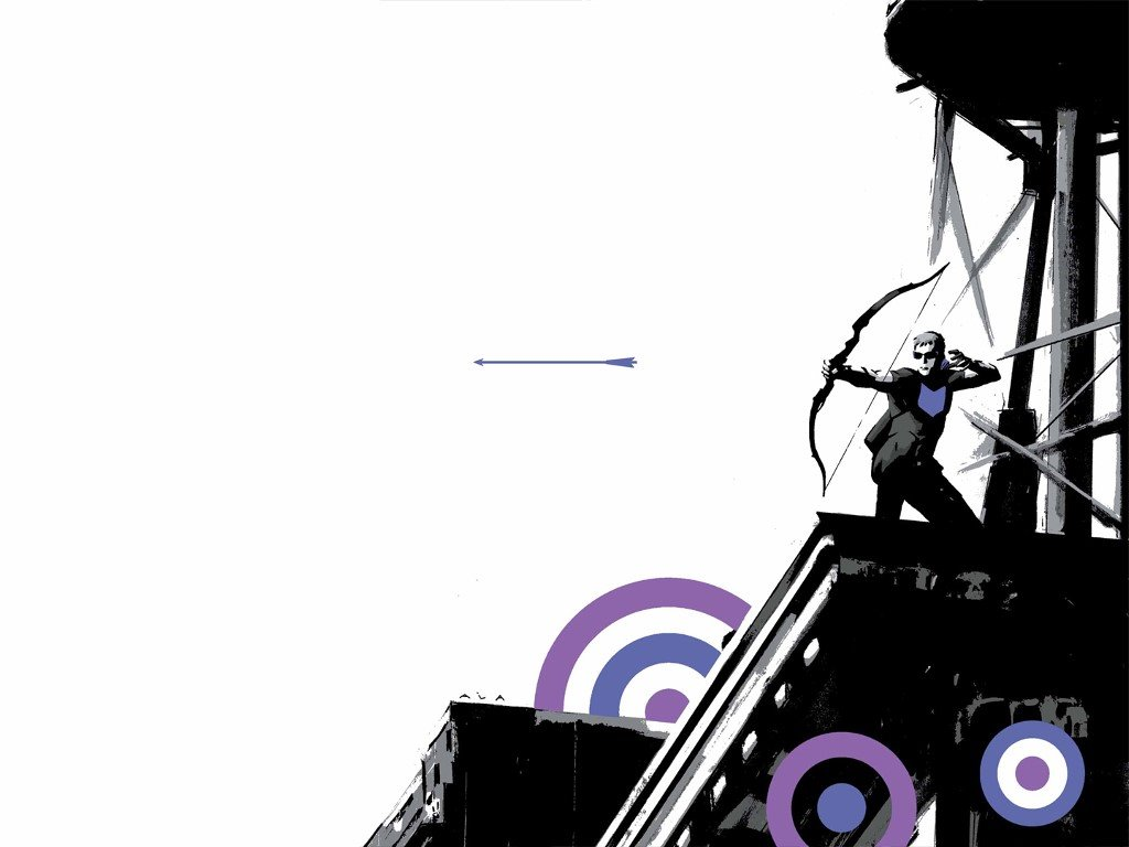 Comics Wallpaper: Hawkeye