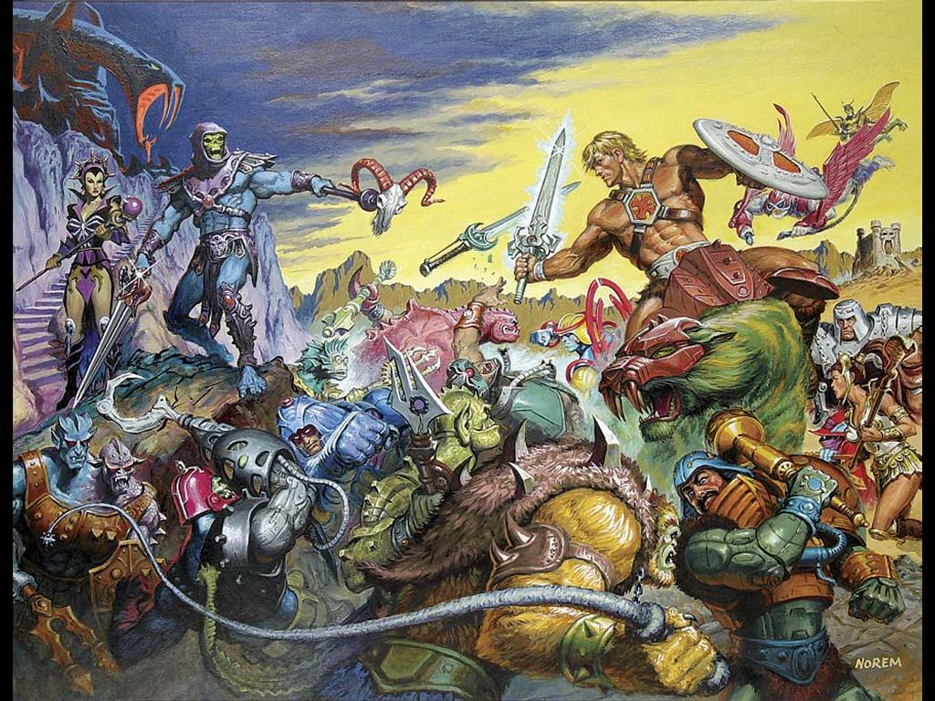 Comics Wallpaper: He-Man by Earl Norem