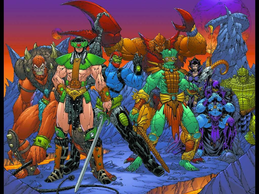 Comics Wallpaper: He-Man - Villains