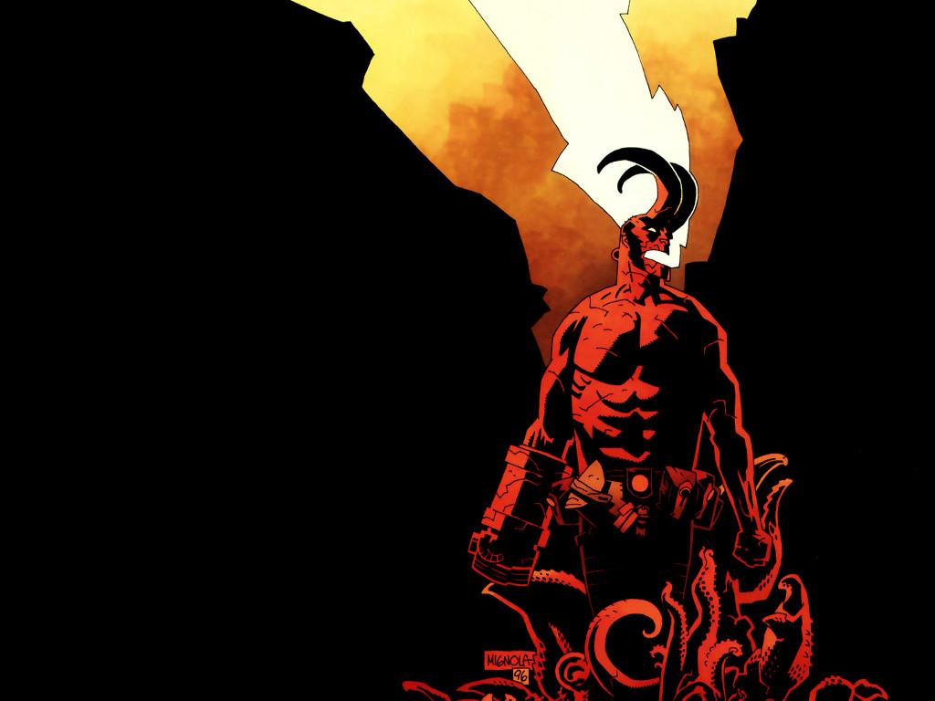Comics Wallpaper: Hellboy